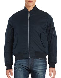 Ben Sherman Bomber Jacket Staples Navy