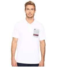 Travis Mathew Hungover Polo White Men's Clothing
