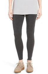 Eileen Fisher Women's Stretch Tencel Jersey Leggings Charcoal