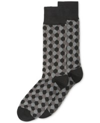 Alfani Hexagon Crew Socks Only At Macy's