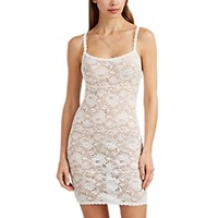 Cosabella Never Say Nevertm Foxietm Lace Slip White
