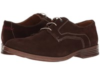 Hush Puppies Glitch Parkview Dark Brown Suede Men's Shoes