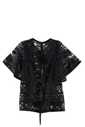 Elie Saab Butterfly Jacket Black