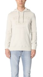 Reigning Champ Lightweight Terry Gym Logo Pullover Hoodie Dust