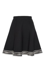 Andrew Gn A Line Mini Skirt Black