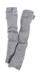 Free People No Chill Armwarmers Grey