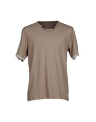 Alpha Studio T Shirts Dove Grey