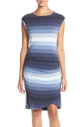 Women's Kut From The Kloth Stripe Jersey Sheath Dress