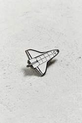 Urban Outfitters Space Shuttle Pin Black Multi