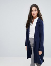 Y.A.S Anna Classic Trench Coat Night Sky Navy
