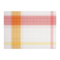 Chilewich Beam Rectangle Placemat Azalea