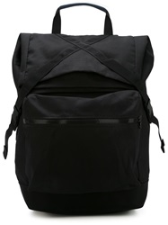 Christopher Raeburn Front Pocket Back Pack Black
