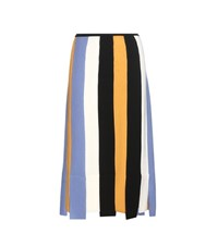 Salvatore Ferragamo Virgin Wool Skirt Multicoloured