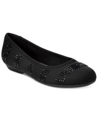Karen Scott Ralleigh Ballet Flats Only At Macy's Women's Shoes Black