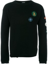 Raf Simons Logo Patch Jumper Black