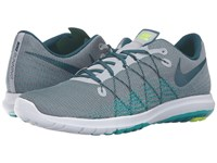 Nike Flex Fury 2 Wolf Grey Midnight Turquoise Real Teal Clear Jade Men's Running Shoes Gray