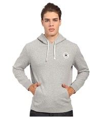 Converse Core Pullover Fleece Hoodie Vintage Grey Heather Men's Sweatshirt Gray
