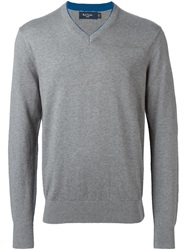 Paul Smith Jeans V Neck Sweater Grey