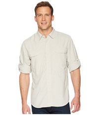 Royal Robbins Bug Barrier Expedition Long Sleeve Shirt Soapstone Long Sleeve Button Up Beige