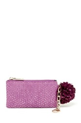 Deux Lux Cotton Candy Clip Pouch Purple