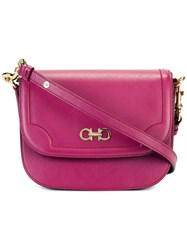 Salvatore Ferragamo Greta Crossbody Bag Pink Purple