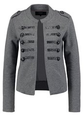 Only Onlray Anette Blazer Dark Grey Melange Mottled Dark Grey