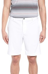 Bobby Jones Big And Tall Trim Fit Tech Chino Shorts White