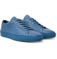 Common Projects Original Achilles Leather Sneakers Blue