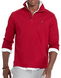 Polo Ralph Lauren Ribbed Cotton Pullover Red
