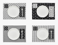 Areaware Bitmap Placemats Set Of 4 Various