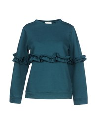 Vicolo Sweatshirts Dark Green