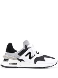 New Balance Lace Up Sneakers White