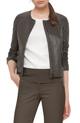 Akris Punto Women's Perforated Lambskin Leather Jacket