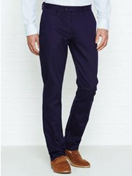 Reiss Griffin Regular Fit Casual Chinos Navy