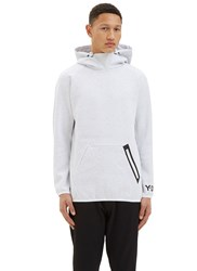 Y 3 Future Oversized Hooded Sweater Grey