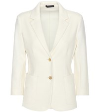 The Row Haven Virgin Wool Jacket White