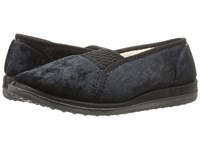 Foamtreads Quartz Black Women's Slippers
