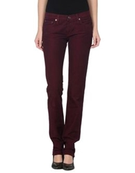 See By Chloe See By Chloe Denim Pants Maroon