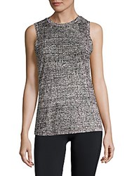 Getting Back To Square One The Muscle Pebbled Tank Top