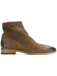 The Last Conspiracy Flat Ankle Boots Brown