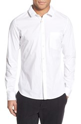 Men's French Connection Trim Fit Long Sleeve Sport Shirt
