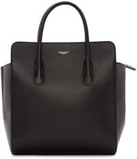 Nina Ricci Black Leather Faust Yokali Tote