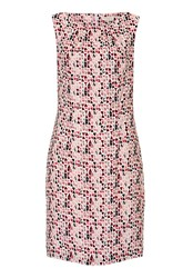 Betty And Co. Printed Shift Dress Pink