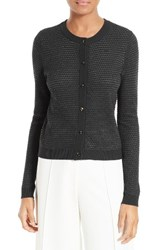 Milly Women's Hexagon Knit Cardigan