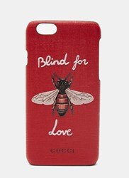 Gucci Blind For Love Iphone 6 Case Black