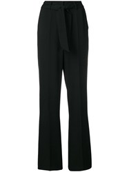 Cambio High Waisted Trousers Black