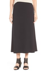 Eileen Fisher Women's Stretchy Jersey Flare Midi Skirt