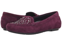 Vionic With Orthaheel Technology Chill Athens Loafer Plum Women's Slip On Shoes Purple