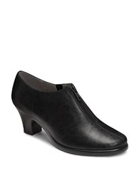 Aerosoles Email Zip Up Ankle Boots Black