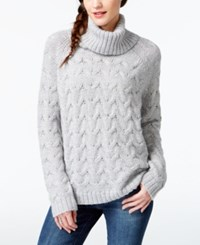 G.H. Bass And Co. Cable Knit Turtleneck Sweater